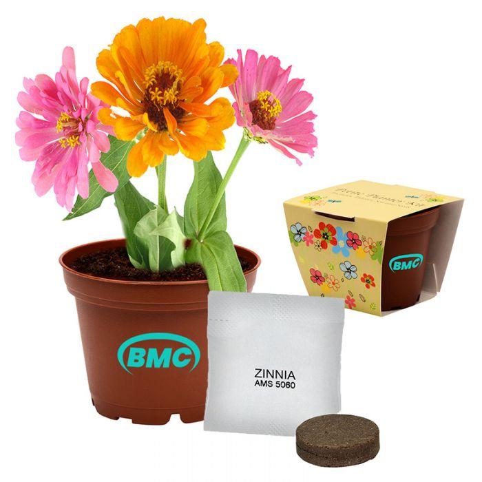 Custom Printed Terra Cotta Lil Planter Kits