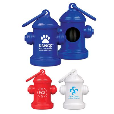 Custom Imprinted Fire Hydrant Bag Holders