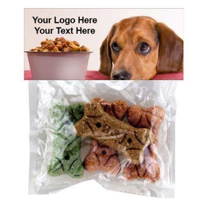 Custom Logo Imprinted Doggie Bags with Dog Bones