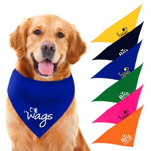 Custom Printed 22 Inch Large Triangle Bandanas