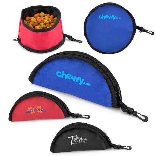 Custom Food-to-Go Travel Pet Bowls