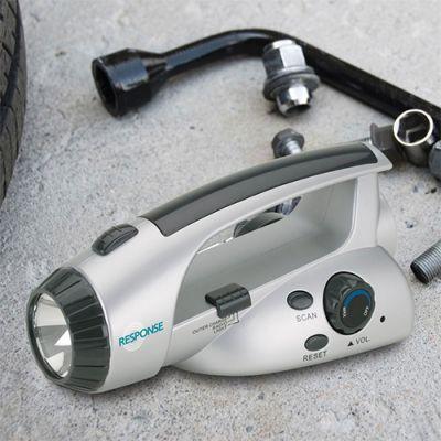 Custom Printed Russwood Survival Flashlight & Scan Radios