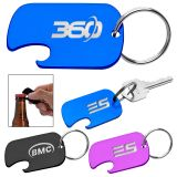 Custom Dog Tag Bottle Opener Key Rings