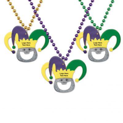 Promotional Jester Bottle Opener Beads