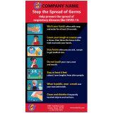 5x9 Customized Coronavirus Prevention Outdoor...
