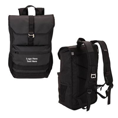 Custom Printed Work-Day Laptop Backpacks