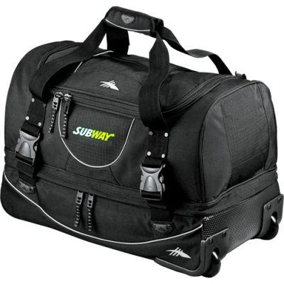 22 Inch Personalized High Sierra® Rolling Duffel Bags