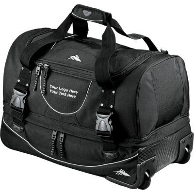 22 Inch Personalized High Sierra Rolling Duffel Bags