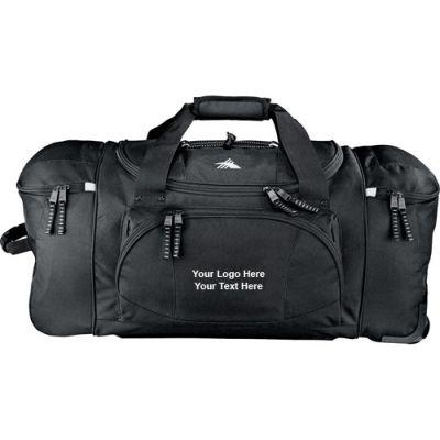 26 Inch Wheeled Custom High Sierra Duffel Bags