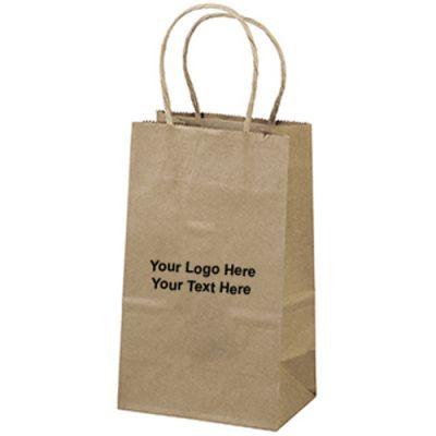Custom Eco Shopper-Pup Paper Bags