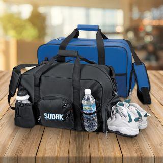 18.5 Inch Custom Printed Weekender Deluxe Duffel Bags