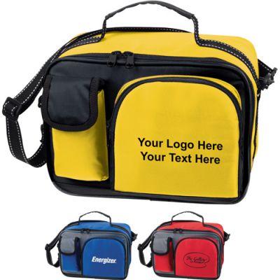 Custom Imprinted Deluxe Cooler Bags