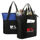 Custom Heavy Duty Zippered Business Tote Bags