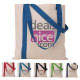 Custom Striped Economy Tote Bags