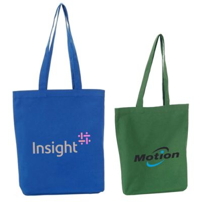 10 Oz Colorful Cotton Tote Bags