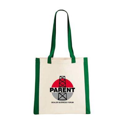 Personalized Coastline Cotton Convention Tote Bags