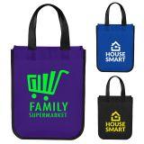 Custom Printed Laminated Small Shopper Tote Bags