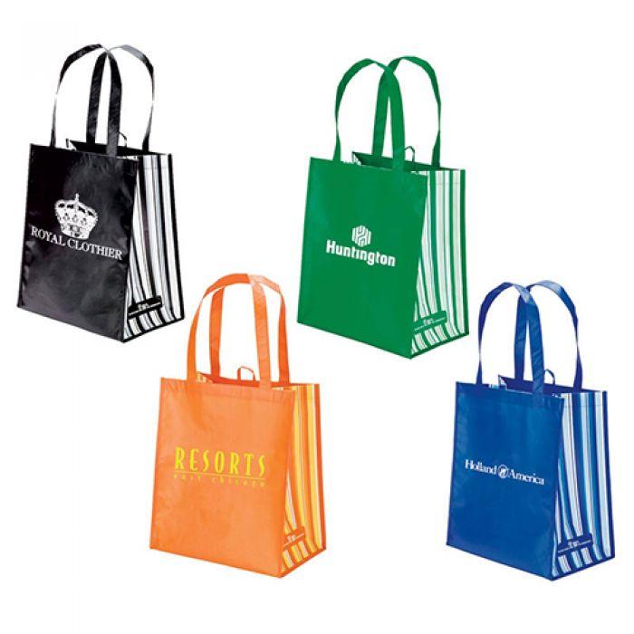Andria RPET Laminate Tote Bags