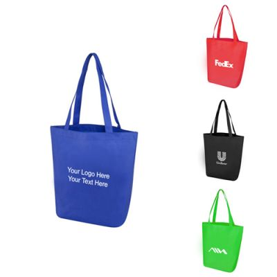 Custom Imprinted Polytex Day Tote Bags