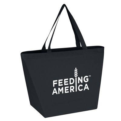Custom Non Woven Budget Shopper Totes Bags