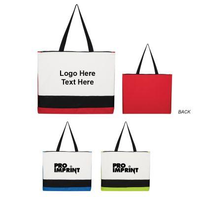 Custom Printed Triplicity Tote Bags