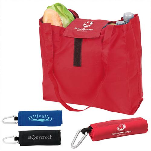 Custom Viridis Foldable Polyester Tote Bags
