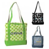 Custom Printed Small Accent Boat Tote Bags