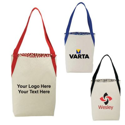 Custom Global Market Cotton Shopper Tote Bags