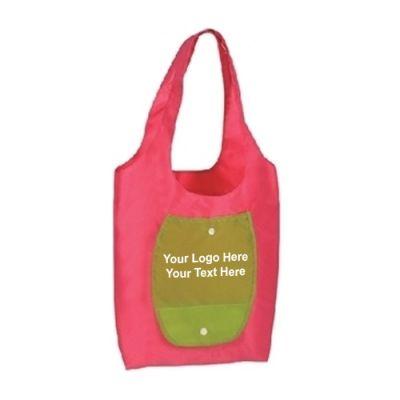 0ed8b2faa32e Custom Ripstop Nylon Folding Shopper Tote Bags - Grocery   Shopping ...