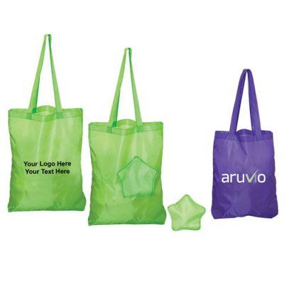 Custom Folding Star Tote Bags