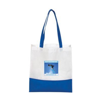 Custom Non-Woven Bottom Stripe Tote Bags