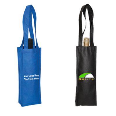 Custom Printed Non-Woven Wine Tote Bags