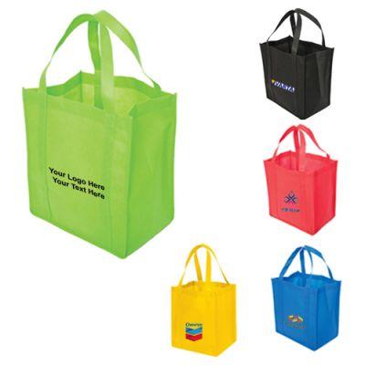Logo Imprinted Non-Woven Polypropylene Tote Bags