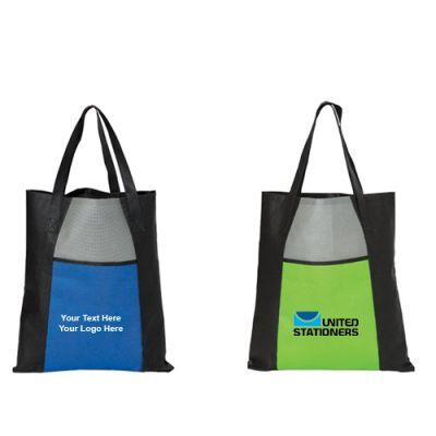 Logo Imprinted Non-Woven Tote Bags