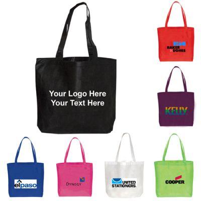 Promotional Logo Non Woven Polypropylene Tote Bags