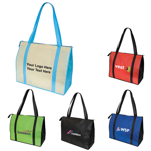 Promotional Oversize Non-Woven Convention Tote Bags