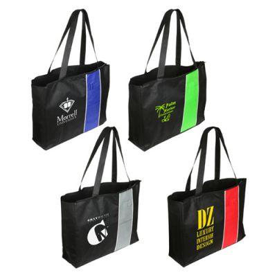 Custom Kingston Zipper Tote Bags