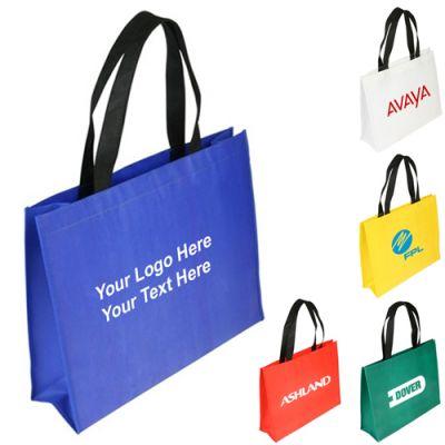 Custom Raindance Water Resistant Coated Tote Bags