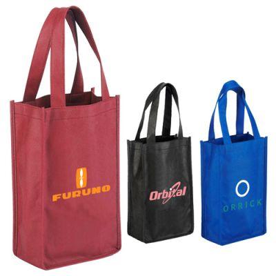 2-Bottle Wine Tote Bags