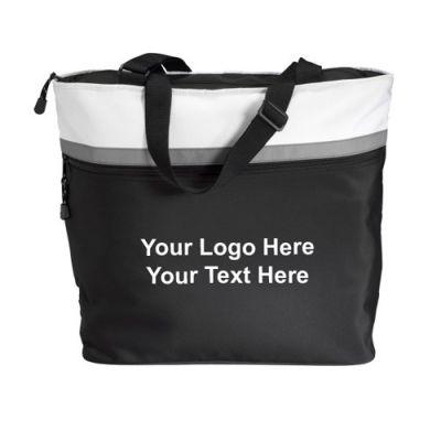 Personalized Eclipse Microfiber Tote Bags