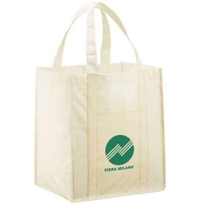 Custom Athena Laminated Tote Bags
