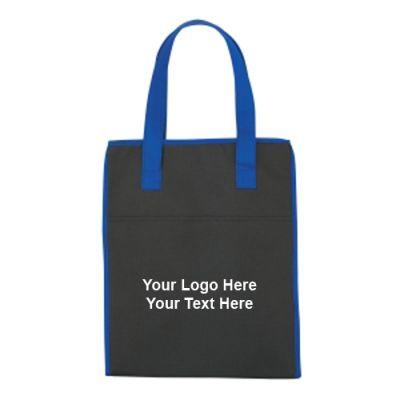 Custom Printed Drawstring Shopper Non-Woven Totes Bags