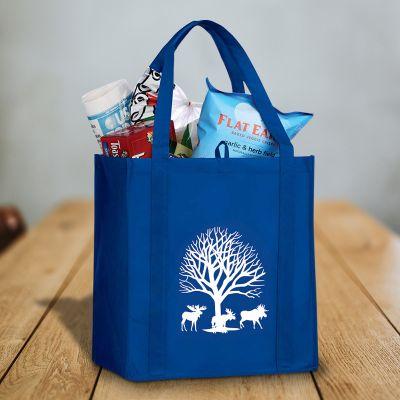 Custom Printed Little Juno Grocery Tote Bags