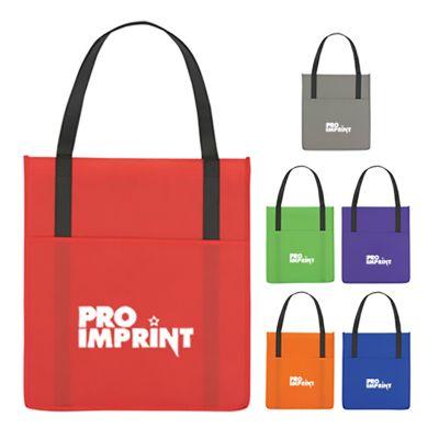 Non-Woven Shopper's Pocket Totes Bags