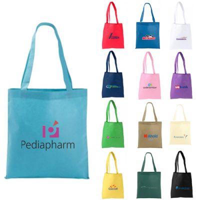 Custom Printed Poly Pro Flat Tote Bags