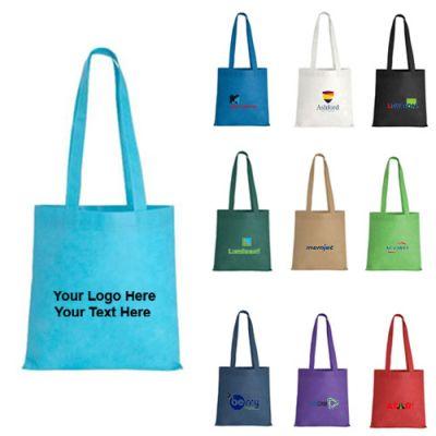 Custom Printed Poly Pro Magazine Tote Bags