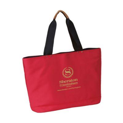 Promotional Logo Work Laptop Nylon Tote Bags