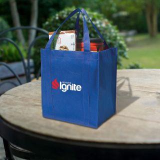 Personalized Non-Woven Shopper Tote Bags