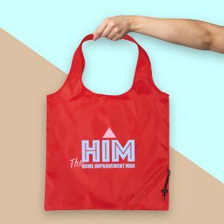 Promotional Bungalow Foldaway Shopper Tote Bags