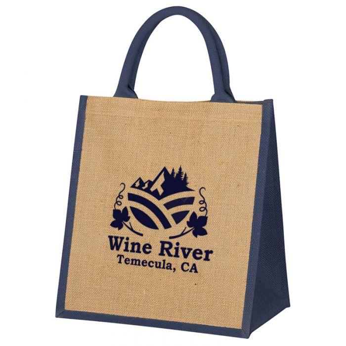 Custom Printed Escape Jute Tote Bags